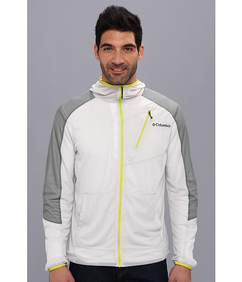 Columbia - Insect Blocker Mesh Jacket (Moonstone/Sedona Sage/Chartreuse) Men