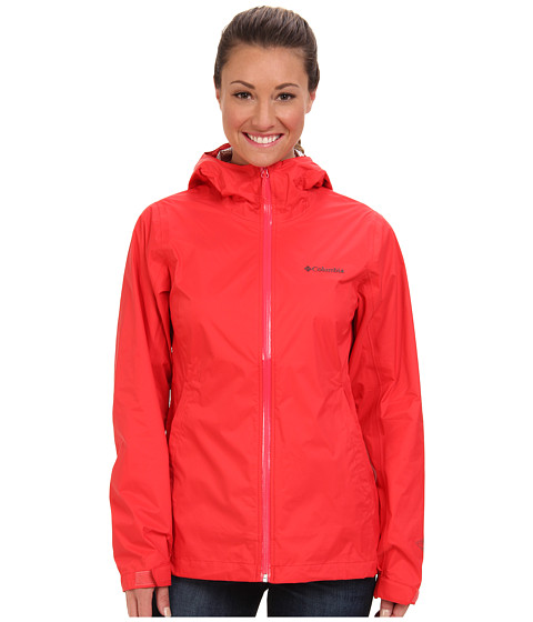 Columbia - EvaPOURation Jacket (Red Hibiscus) Women