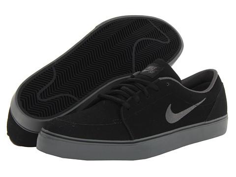 Nike SB - Satire NB (Black/Dark Base Grey) Men's Skate Shoes