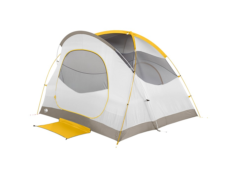 The North Face - Kaiju 4 Tent (Castor Grey/Arrowwood Yellow) Outdoor Sports Equipment