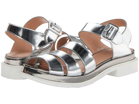 Robert Clergerie - Corson (#887 Silver Nlam) Women's Sandals