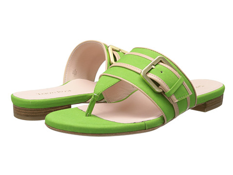 Taryn Rose - Ikia (Kelly Green Soft Poplin) Women's Sandals