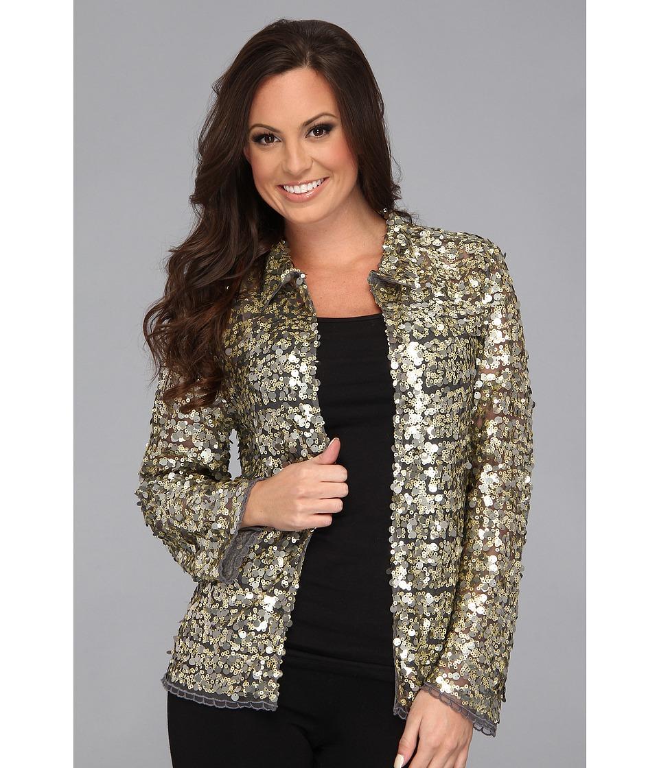 Tasha Polizzi - Broadway Jacket (Pewter) Women's Jacket