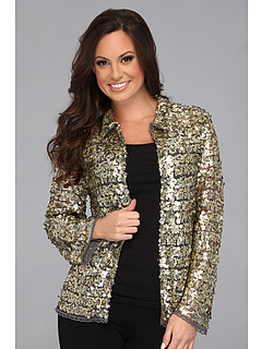 SALE! $111.99 - Save $136 on Tasha Polizzi Broadway Jacket (Pewter) Apparel - 54.84% OFF $248.00