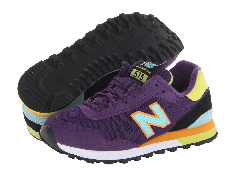 New Balance Classics - WL515 (Purple) Women's Classic Shoes