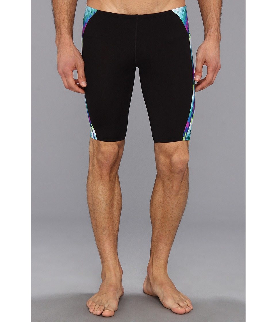 Speedo - Kinetic Zag Jammer (Deep) Men's Swimwear