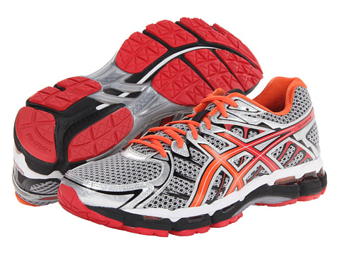 ASICS - Gel-Surveyor 2 (Iron/Black/Red) Men's Shoes