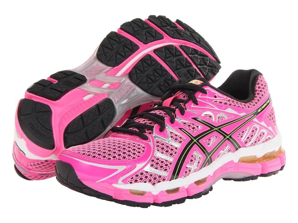 ASICS - Gel-Surveyor 2 (Neon Pink/Black/Flash Yellow) Women's Shoes