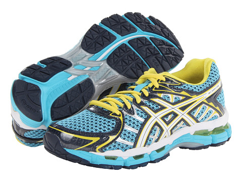 ASICS - Gel-Surveyor 2 (Turquoise/White/Lightning) Women's Shoes