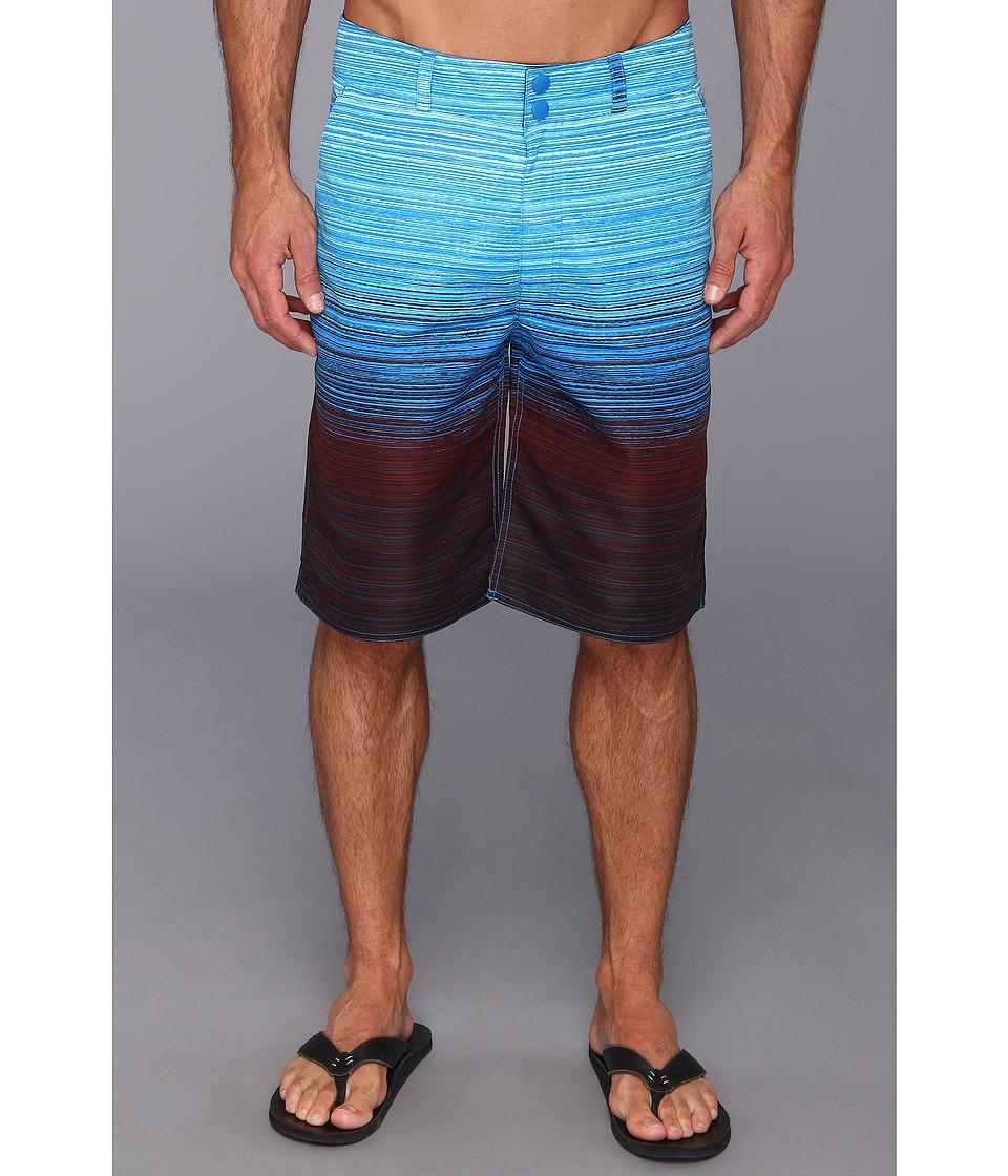 Columbia - Tumwater Short (Hyper Blue Gradient Print) Men