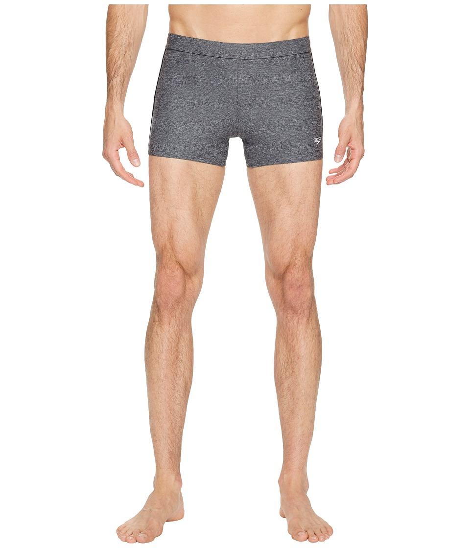 Speedo - Shoreline Square Leg (Heather Gey) Men's Swimwear