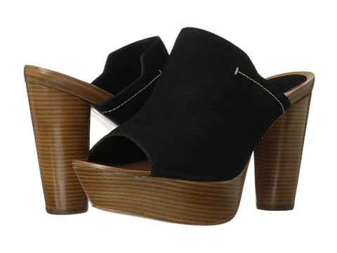 10 Crosby Derek Lam - Katy (Black Tumbled Nubuck) High Heels