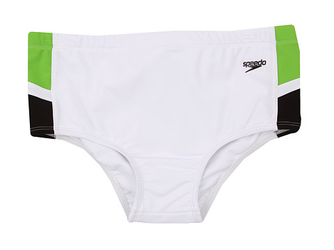 Speedo - Speedo Samba Brief (White) Men's Swimwear