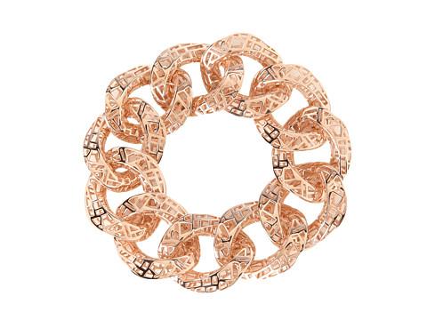 Roberto Coin - Skyline Link Bracelet 7 (Rose) Bracelet