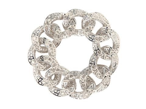 Roberto Coin - Skyline Link Bracelet 7 (Silver) Bracelet