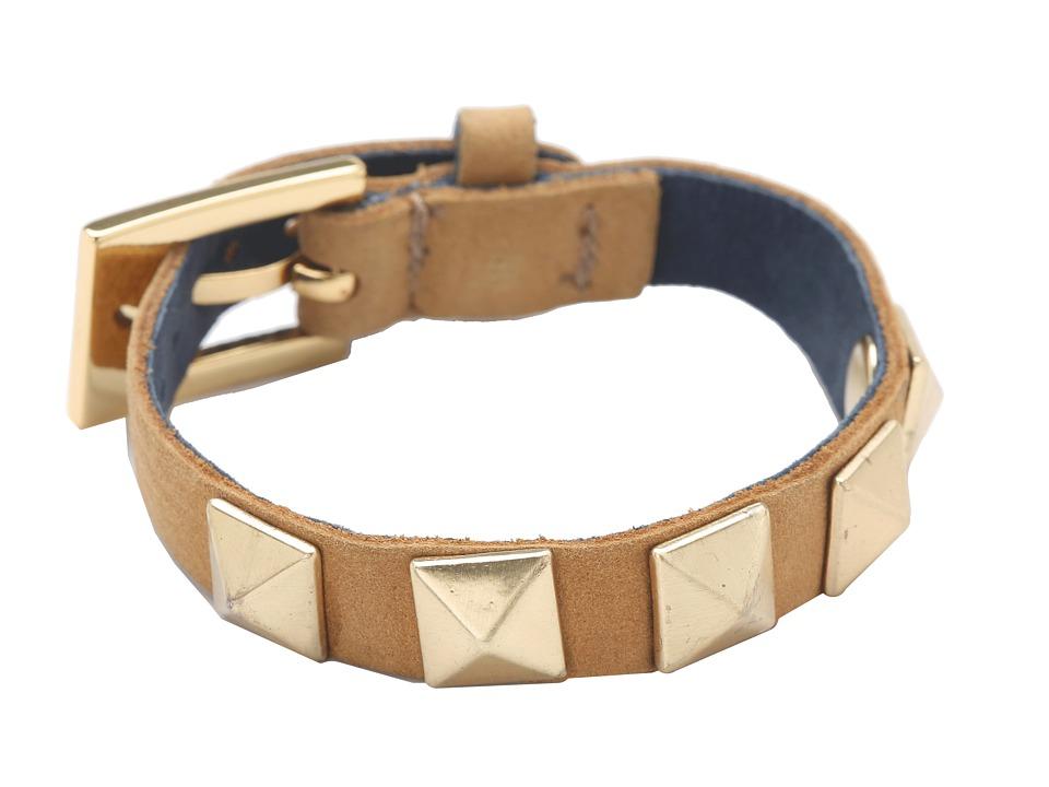 gorjana - Sunset Pyramid Stud Bracelet (Senape/Black Iris) Bracelet