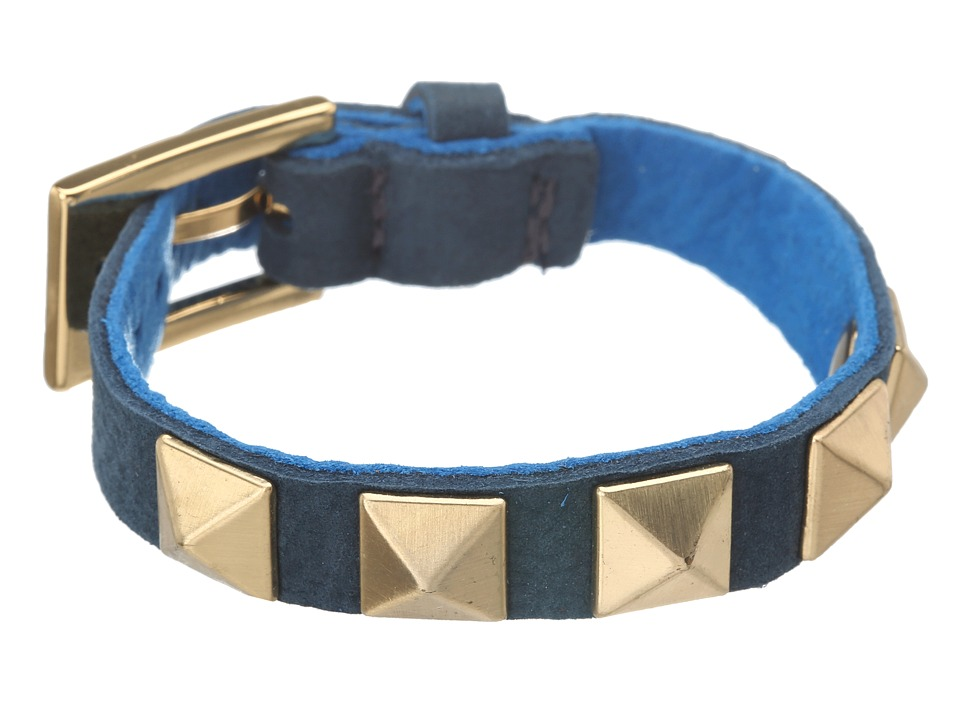 gorjana - Sunset Pyramid Stud Bracelet (Imperial Blue/Mare) Bracelet