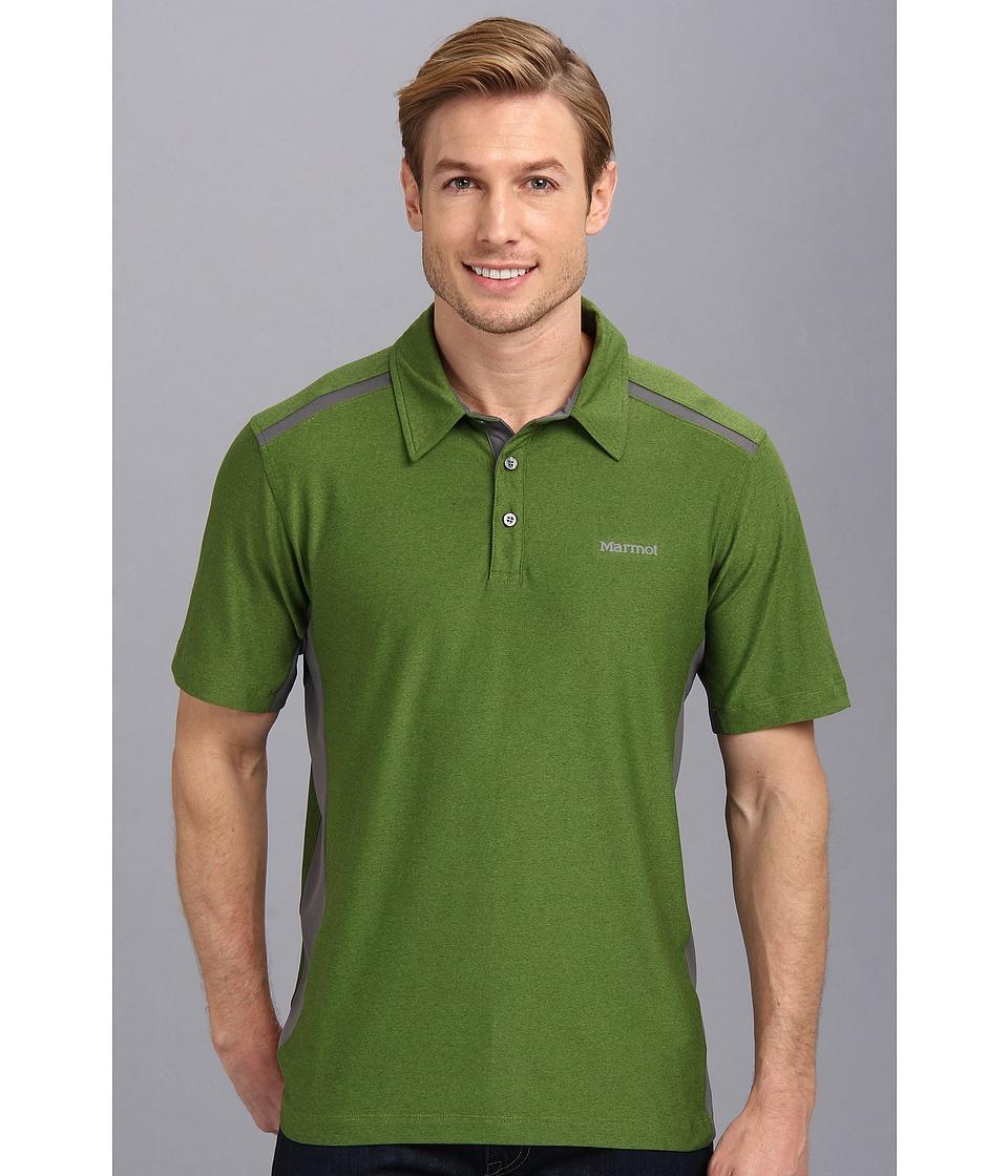 Marmot - Belmont Polo S/S (Green Lichen) Men