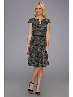 SALE! $61.99 - Save $76 on Tahari by ASL Ron Dress (Black Ivory) Apparel - 55.08% OFF $138.00