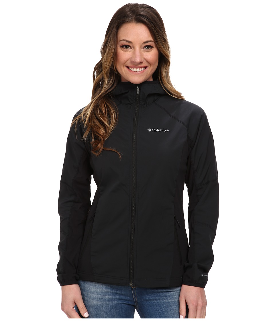 Columbia - Sweet As Softshell Hoodie (Black) Women