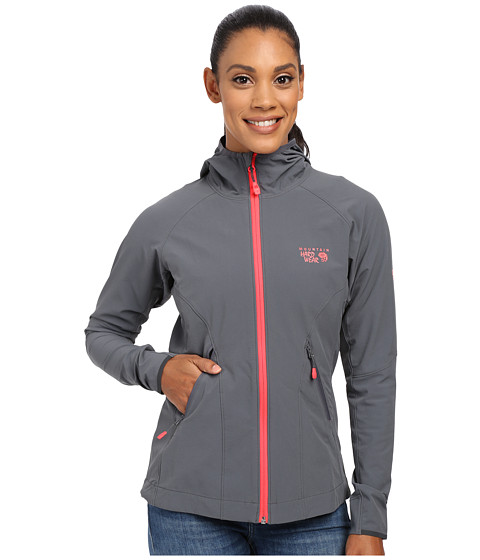 Mountain Hardwear - Super Chockstone Jacket (Graphite) Women's Coat
