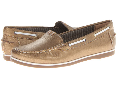 Naturalizer - Hanover (Spiced Gold Metallic) Women's Slip on Shoes