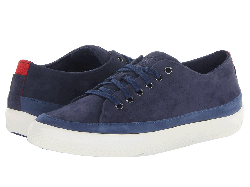 FitFlop - Super T Suede (French Navy) Women's Lace up casual Shoes