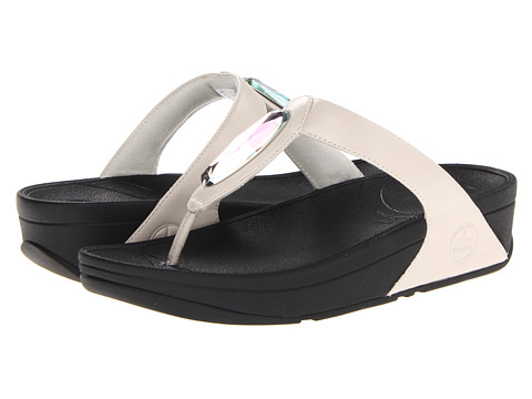 beba3cfdec2cbe ... UPC 883945443893 product image for FitFlop Chada Leather (Urban White)  Women s Shoes