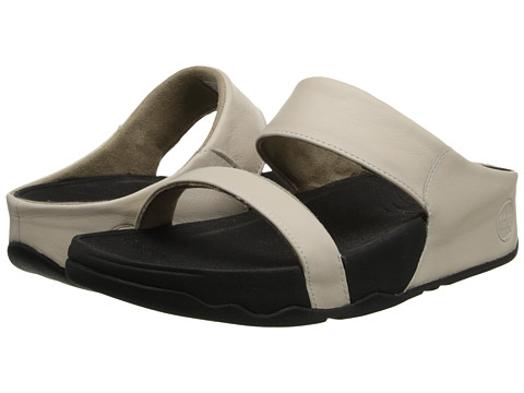 FitFlop - Lulu Slide (Antique White) Women's Sandals