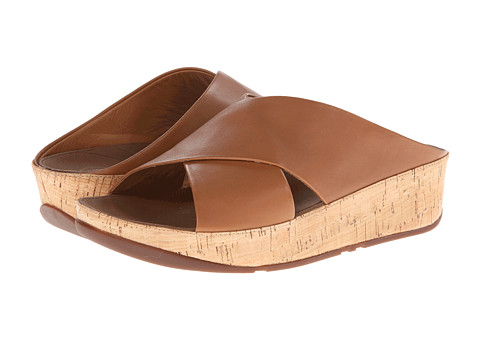 FitFlop - Kys Leather (Tan) Women