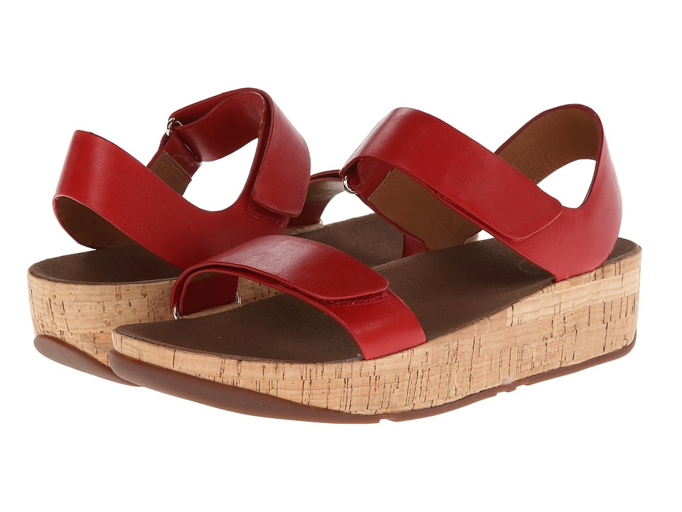 FitFlop - Bon Easy (FF Red) Women's Shoes
