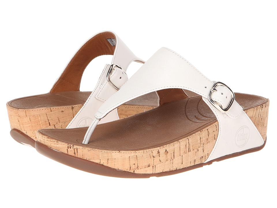 FitFlop The Skinny Leather (Urban White) Women