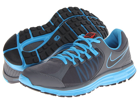 Nike - Lunar Forever 3 (Dark Gray/Black/Vivid Blue) Men