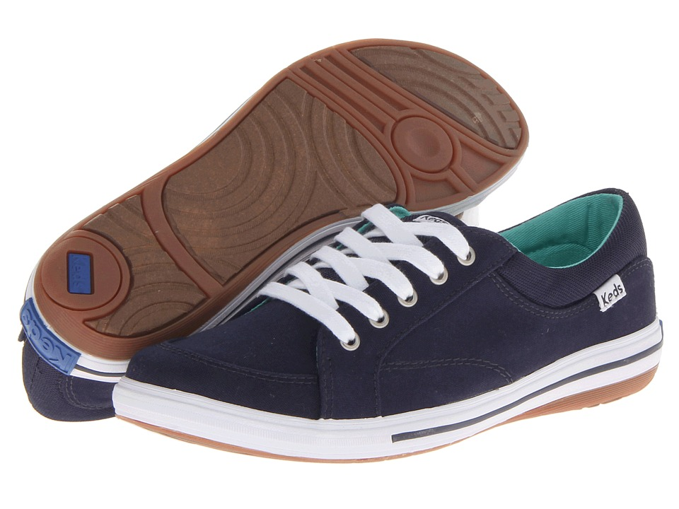 Keds - Vollie LTT (Navy Canvas) Women's Lace up casual Shoes