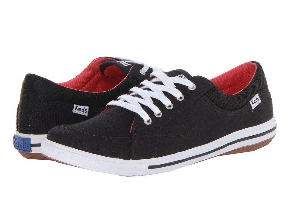 Keds Vollie LTT (Black Canvas) Women