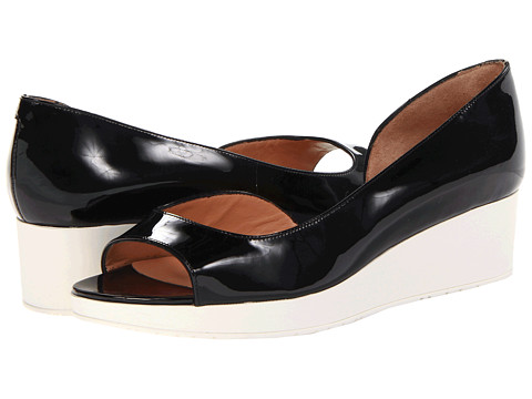 Robert Clergerie - Vimi (134 Black/White Patent) Women