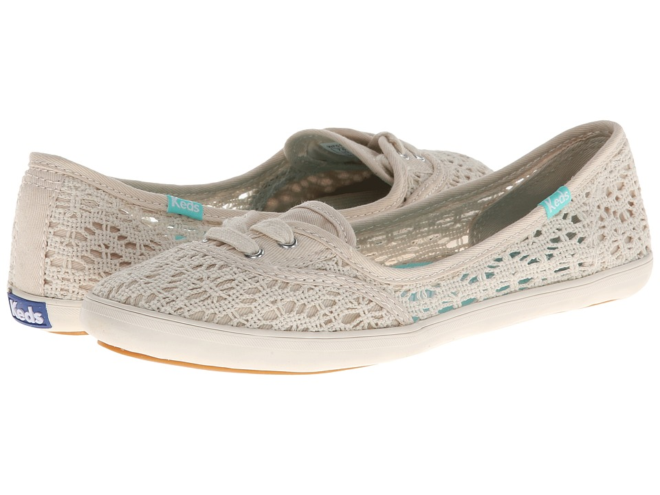 Keds - Teacup Crochet (Natural) Women's Shoes