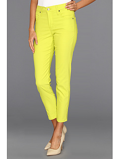 SALE! $34.99 - Save $73 on Karen Kane Electric Tide Twill Capri (Kiwi) Apparel - 67.60% OFF $108.00