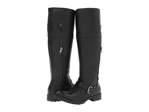 VOLATILE - Clyde (Black) Women's Zip Boots