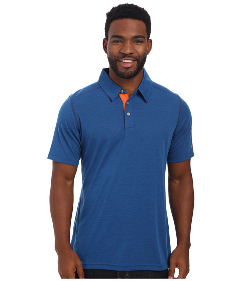 Marmot - Wallace Polo (Blue Sapphire) Men's Short Sleeve Pullover