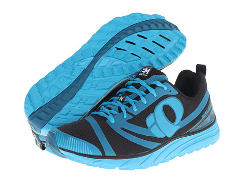 Pearl Izumi - Em Trail N 2 (Black/Mykonos Blue) Men's Running Shoes