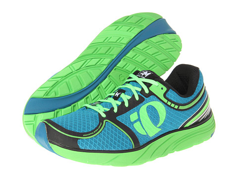 Pearl Izumi - Em Road M 3 (Blue/Electric Green) Men's Running Shoes