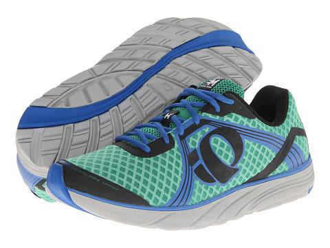 Pearl Izumi - Em Road H 3 (Green/Black) Men's Running Shoes