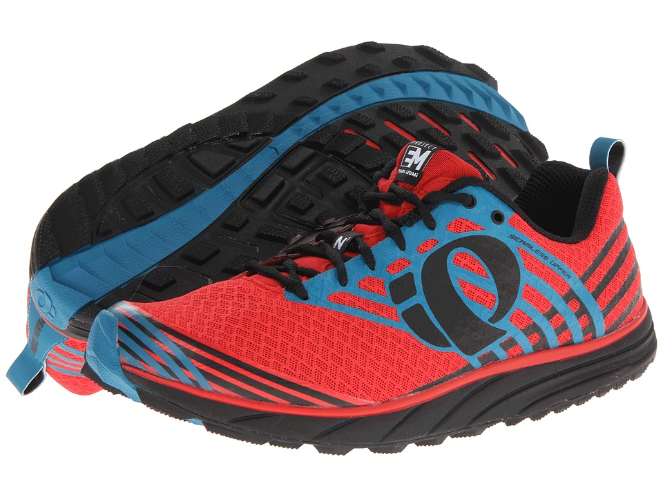 Pearl Izumi - Em Trail N 1 (Black/Firey Red) Men's Running Shoes