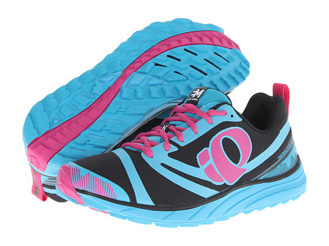 Pearl Izumi - Em Trail N 2 (Black/Electric Blue) Women's Running Shoes