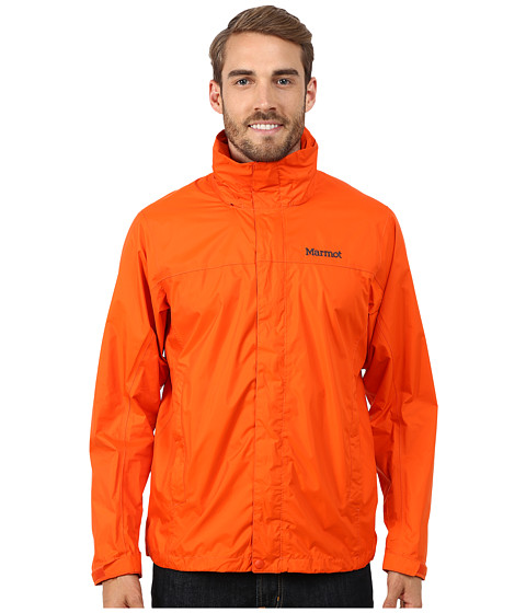 Marmot - PreCip Jacket (Sunset Orange) Men
