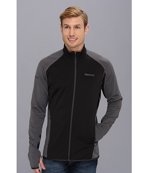 Marmot - Caldus Jacket (Black/Slate Grey) Men