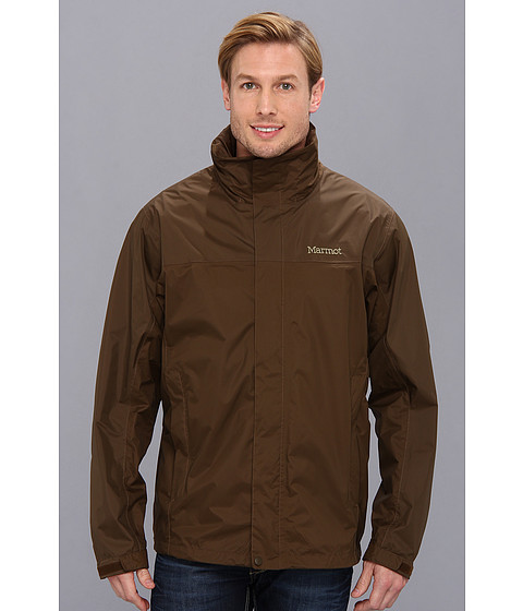 Marmot - PreCip Jacket (Brown Bark) Men