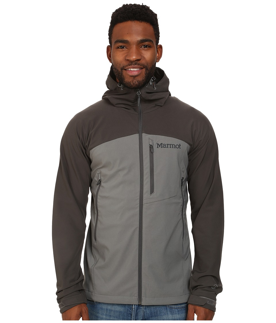 Marmot - Estes Hoodie (Cinder/Slate Grey) Men's Jacket