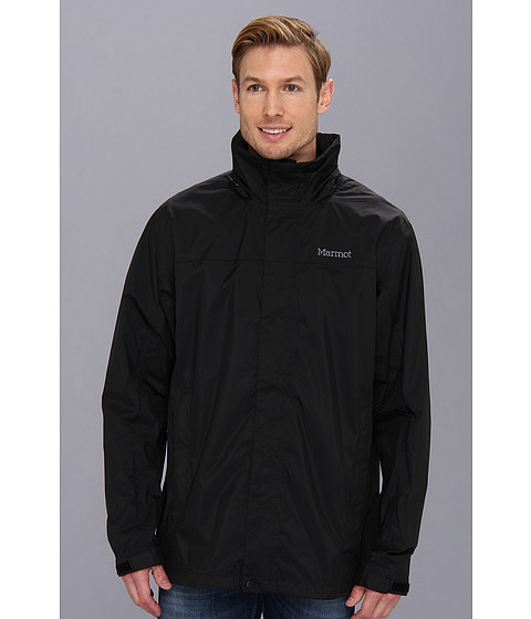 Marmot - PreCip Jacket Tall (Black) Men's Jacket